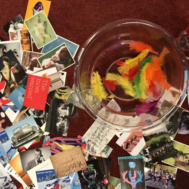 Foto van ansichtkaarten en foto's: Storytelling - Het organisatie verhaal - De Nootenkraker voor de Nieuwetijdse Bedrijfscultuur