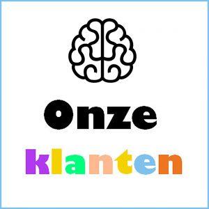 Logo 'Onze Klanten' van De Nootenkraker voor Nieuwetijdse Bedrijfscultuur