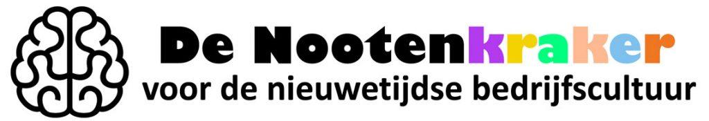 Logo van De Nootenkraker voor Nieuwetijdse Bedrijfscultuur